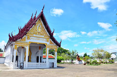 Wat Phra Borommathat Chaiya Temple in Chaiya Surat Thani Stock Images