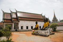 Wat Phra Borommathat Chaiya Temple in Chaiya district in Surat Thani, Thailand Stock Photos