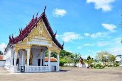 Wat Phra Borommathat Chaiya Temple em Chaiya Surat Thani Imagens de Stock