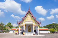 Wat Phra Borommathat Chaiya Worawihan, an ancient temple at Chaiya district,Surat Thani province, South of Thailand. Stock Images