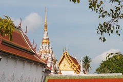 Wat Phra Borommathat Chaiya Worawihan Royalty Free Stock Photo
