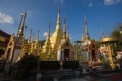 Wat Phra Boromthat стоковое изображение