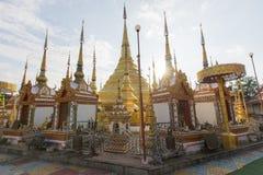 Wat Phra Boromthat стоковые изображения rf