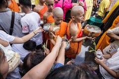 Wat Phra Buddhabat at saraburi, thailand. Royalty Free Stock Photos