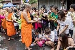 Wat Phra Buddhabat at saraburi, thailand. Royalty Free Stock Photography