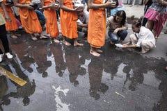 Wat Phra Buddhabat at saraburi, thailand. Royalty Free Stock Image