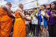 Wat Phra Buddhabat at saraburi, thailand. Stock Photography