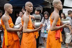 Wat Phra Buddhabat at saraburi, thailand. Stock Photo