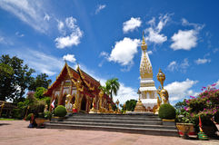 Wat Phra ce Phanom de la Thaïlande Images libres de droits