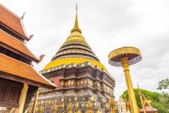 Wat Phra ce temple de Lampang Luang Images libres de droits