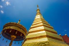 Wat Phra Chae吊 库存图片