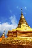 Wat Phra That Chae Haeng Fotografie Stock