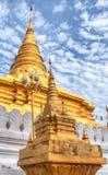 Wat Phra That Chae Haeng alla città di Nan, Tailandia Fotografia Stock