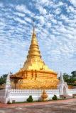 Wat Phra That Chae Haeng alla città di Nan, Tailandia Fotografia Stock Libera da Diritti