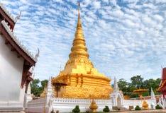 Wat Phra That Chae Haeng alla città di Nan, Tailandia Immagine Stock