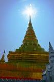 Wat Phra That Chae Haeng en Nan Thailand Imagen de archivo