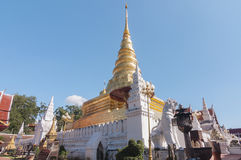 Wat Phra That Chae Haeng Stock Photos