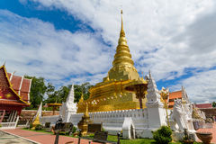 Wat Phra That Chae Haeng in Nan, Thailand Stock Images