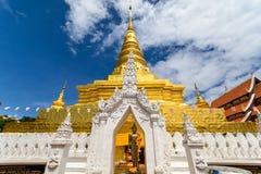 Wat Phra That Chae Haeng in Nan, Thailand Royalty Free Stock Image