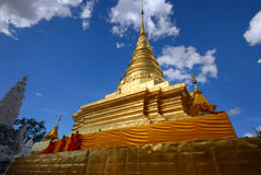 Wat Phra That Chae Haeng[ Pagoda]. Royalty Free Stock Photography