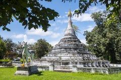 Wat Phra That Chae Haeng tempel Royaltyfria Foton