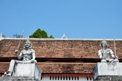 Wat Phra That Chae Haeng temple in Nan,Thailand Royalty Free Stock Photography
