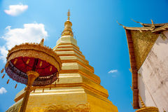 Wat Phra That Chae Hang Royalty Free Stock Photos