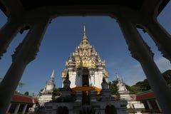 Wat Phra That Chaiya Temple, Suratthani, Tailandia Foto de archivo libre de regalías