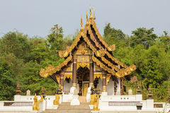 Wat Phra That Chao Lan-Zapfen Lizenzfreie Stockbilder