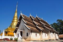 Wat Phra che Chae Haeng, provincia di Nan, Tailandia Fotografie Stock Libere da Diritti