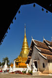 Wat Phra che Chae Haeng, provincia di Nan, Tailandia Immagine Stock Libera da Diritti