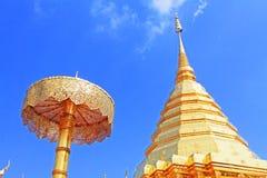 Wat Phra che Doi Suthep, Chiang Mai, Tailandia fotografia stock libera da diritti