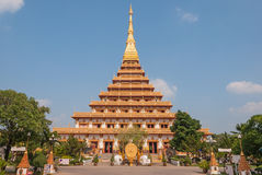 Wat Phra That Chedi of Khonkaen Thailand2 Royalty Free Stock Image