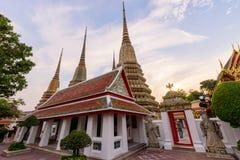 Wat Phra Chettuphon Wimon Mangkhalaram Ratchaworamahawihan Wat Pho Στοκ Φωτογραφία