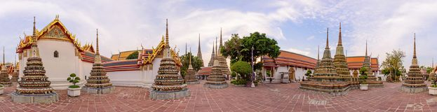 Wat Phra Chettuphon Wimon Mangkhalaram Ratchaworamahawihan Wat Pho Στοκ φωτογραφία με δικαίωμα ελεύθερης χρήσης