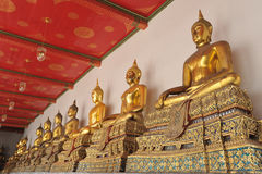 Wat Phra Chetuphon Immagini Stock Libere da Diritti