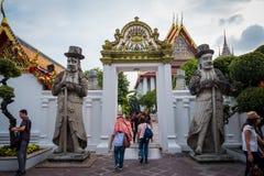 Wat Phra Chetuphon Wat Pho ? Wat Phra Chetuphon Vimolmangklararm Rajwaramahaviharn στοκ φωτογραφία με δικαίωμα ελεύθερης χρήσης