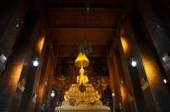 Wat Phra Chetuphon Vimolmangklararm Rajwaramahaviharn lokalt som är bekant som Wat Pho Arkivfoto