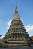 Wat Phra Chetuphon Vimolmangklararm Rajwaramahaviharn lokalt som är bekant som Wat Pho Royaltyfri Fotografi