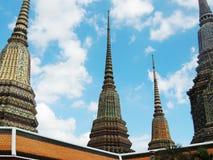 Wat Phra Chetuphon Vimon Mangala Wat Pho, Bangkok imágenes de archivo libres de regalías