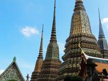 Wat Phra Chetuphon Vimon Mangala Wat Pho, Bangkok zdjęcie royalty free