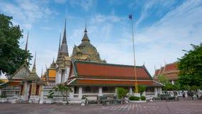 Wat Phra Chetupon Vimolmangklararm & x28; Wat Pho & x29; tempel Arkivfoton