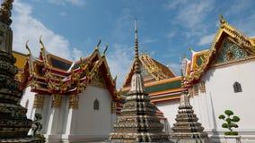 Wat Phra Chetupon Vimolmangklararm & x28; Wat Pho & x29; tempel Royaltyfria Foton