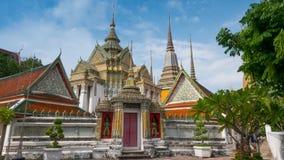 Wat Phra Chetupon Vimolmangklararm & x28; Wat Pho & x29; tempel Royaltyfria Bilder