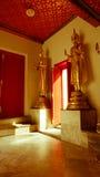 Wat Phra Chetupon Vimolmangklararm & x28; Wat Pho & x29; tempel i Thailand Royaltyfria Foton