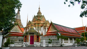 Wat Phra Chetupon Vimolmangklararm & x28; Wat Pho & x29; tempel in Thailand Royalty-vrije Stock Afbeeldingen