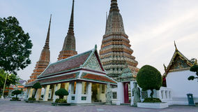 Wat Phra Chetupon Vimolmangklararm & x28; Wat Pho & x29; tempel in Thailand Royalty-vrije Stock Foto