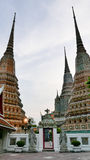 Wat Phra Chetupon Vimolmangklararm & x28; Wat Pho & x29; tempel in Thailand Royalty-vrije Stock Afbeelding