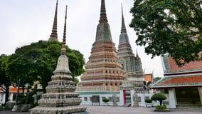 Wat Phra Chetupon Vimolmangklararm & x28; Wat Pho & x29; tempel in Thailand Stock Foto's