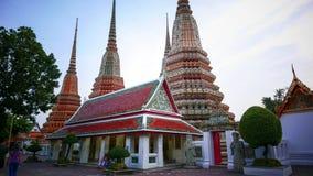 Wat Phra Chetupon Vimolmangklararm & x28; Wat Pho & x29; tempel in Thailand Stock Afbeeldingen